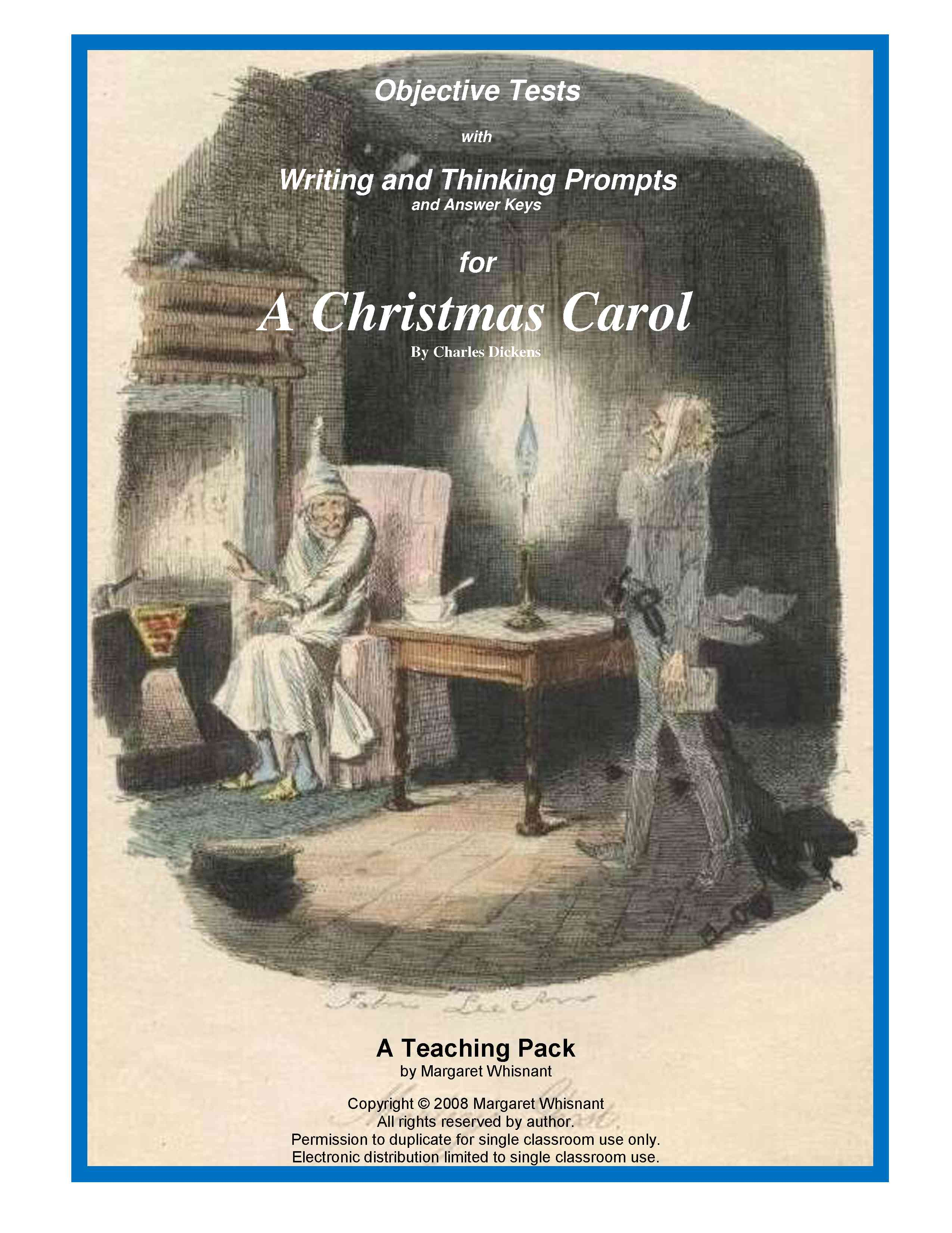 a christmas carol dialectical journal